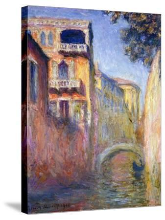 Le Rio de la Salute-Claude Monet-Stretched Canvas Print