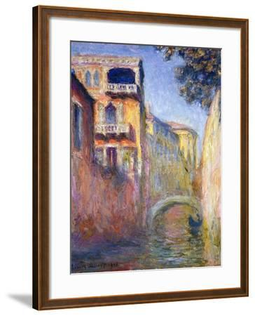 Le Rio de la Salute-Claude Monet-Framed Giclee Print