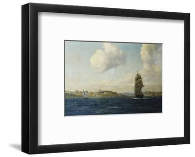 A View of Constantinople-Michael Zeno Diemer-Framed Premium Giclee Print