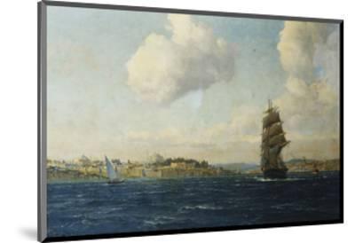 A View of Constantinople-Michael Zeno Diemer-Mounted Premium Giclee Print