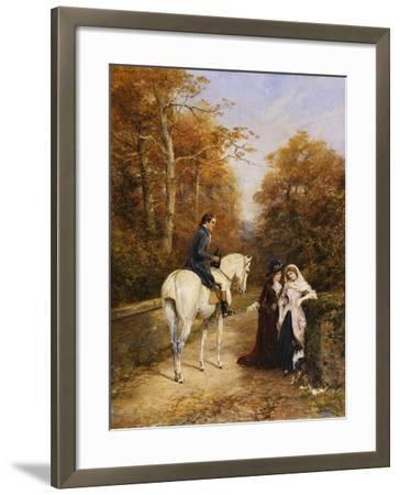 The Peacemaker-Heywood		 Hardy-Framed Giclee Print