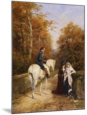 The Peacemaker-Heywood		 Hardy-Mounted Giclee Print
