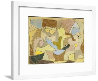 ...True Also for Plants-Paul Klee-Framed Giclee Print