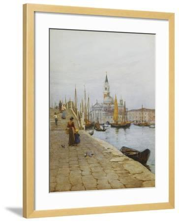 San Giorgio Maggiore from the Zattere, Venice-Helen		 Allingham-Framed Giclee Print