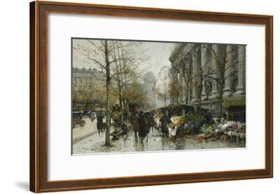 La Madelaine, Paris-Eugene Galien-Laloue-Framed Giclee Print