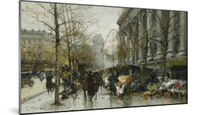 La Madelaine, Paris-Eugene Galien-Laloue-Mounted Giclee Print