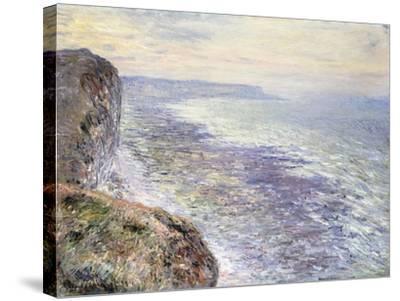 The Sea near Fecamp-Claude Monet-Stretched Canvas Print