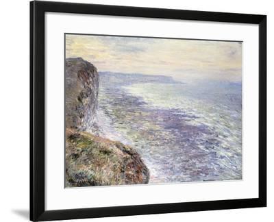 The Sea near Fecamp-Claude Monet-Framed Giclee Print