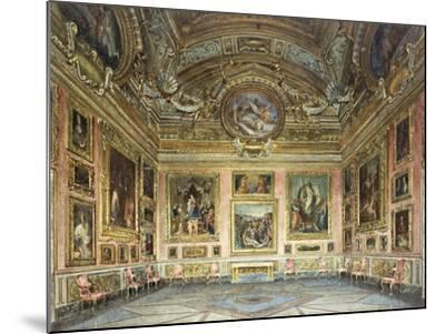 Interiors of the Palazzo Pitti, Florence-Domenico Caligo-Mounted Giclee Print