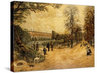 Jardin des Plantes, Paris-Fernand Auguste Besnier-Stretched Canvas Print