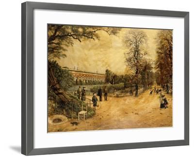 Jardin des Plantes, Paris-Fernand Auguste Besnier-Framed Giclee Print