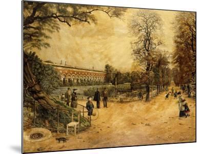 Jardin des Plantes, Paris-Fernand Auguste Besnier-Mounted Giclee Print
