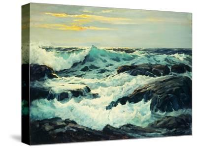 Surf and Headlands-Frederick Judd		 Waugh-Stretched Canvas Print