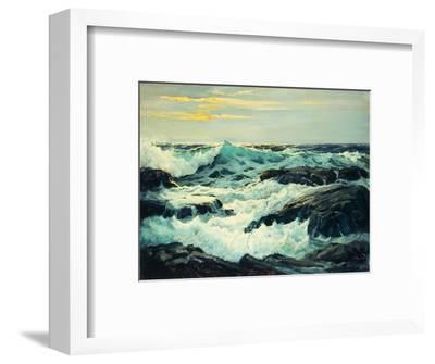 Surf and Headlands-Frederick Judd		 Waugh-Framed Premium Giclee Print