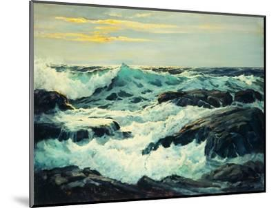 Surf and Headlands-Frederick Judd		 Waugh-Mounted Premium Giclee Print