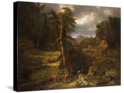 The Gloomy Days of 1776-George Inness, Sr.-Stretched Canvas Print