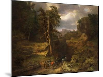 The Gloomy Days of 1776-George Inness, Sr.-Mounted Giclee Print