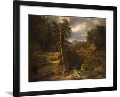 The Gloomy Days of 1776-George Inness, Sr.-Framed Giclee Print