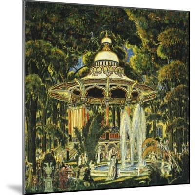 Gazebo in Central Park-Edward Middleton Manigault-Mounted Giclee Print