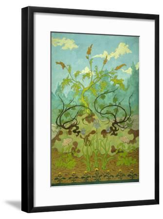 Sunflowers and Poppies-Paul Ranson-Framed Giclee Print