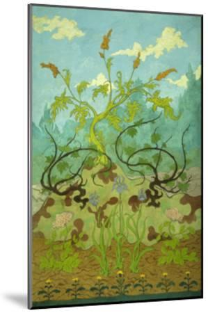 Sunflowers and Poppies-Paul Ranson-Mounted Giclee Print