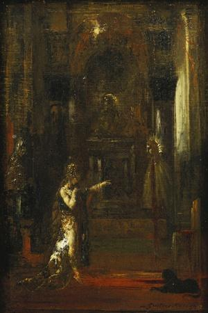 The Apparition-Gustave Moreau-Stretched Canvas Print