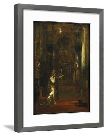 The Apparition-Gustave Moreau-Framed Giclee Print