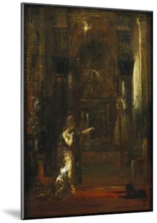The Apparition-Gustave Moreau-Mounted Giclee Print
