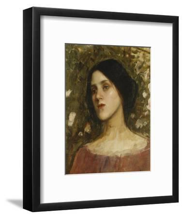 The Rose Bower-John William Waterhouse-Framed Giclee Print