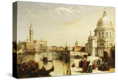 View of St. Marks from the Punta Della Dogana, Venice-Edward		 Pritchett-Stretched Canvas Print