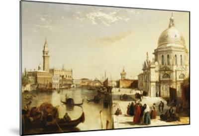 View of St. Marks from the Punta Della Dogana, Venice-Edward		 Pritchett-Mounted Giclee Print