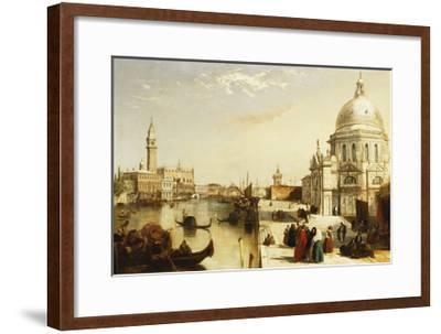 View of St. Marks from the Punta Della Dogana, Venice-Edward		 Pritchett-Framed Giclee Print