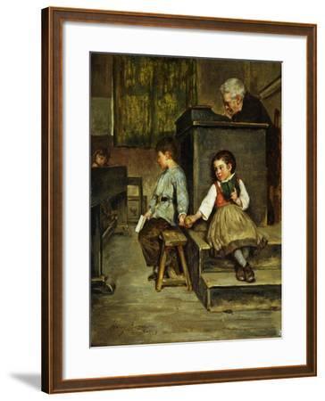 The Classroom-Henry Bacon-Framed Giclee Print