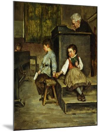 The Classroom-Henry Bacon-Mounted Giclee Print