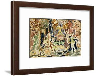Dancing Figures-Maurice Brazil Prendergast-Framed Giclee Print