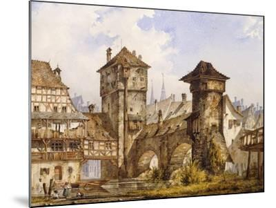 A View of Nurnberg-Angelo		 Quaglio-Mounted Giclee Print