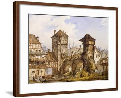 A View of Nurnberg-Angelo		 Quaglio-Framed Giclee Print