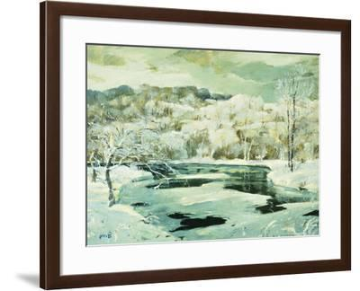 Frosted Trees-Jonas		 Lie-Framed Giclee Print