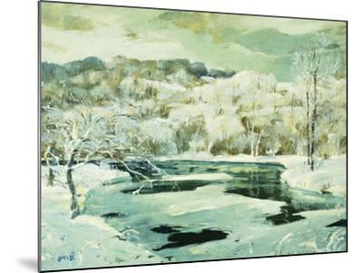 Frosted Trees-Jonas		 Lie-Mounted Giclee Print