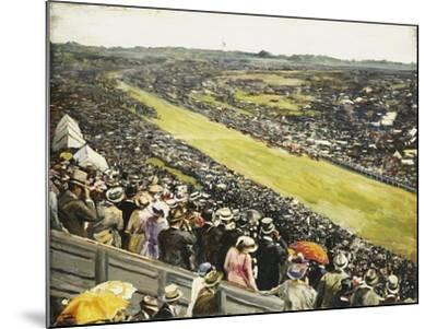 The Derby-Sir John Lavery-Mounted Giclee Print