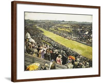 The Derby-Sir John Lavery-Framed Giclee Print