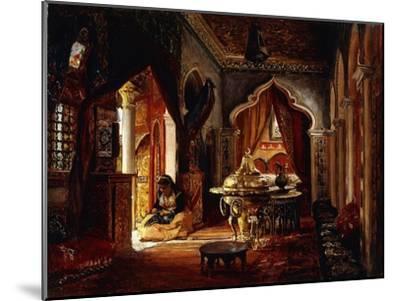 Within the Seraglio-Frederick Arthur Bridgman-Mounted Giclee Print