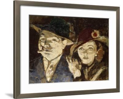 Jack and Jill-Walter Richard Sickert-Framed Giclee Print