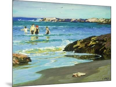 Low Tide-Edward Henry		 Potthast-Mounted Giclee Print