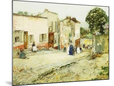 Confirmation Day-Childe Hassam-Mounted Giclee Print