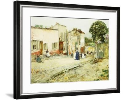 Confirmation Day-Childe Hassam-Framed Giclee Print