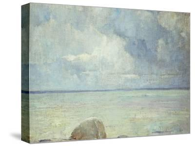 A View of the Sound-Soren Emil Carlsen-Stretched Canvas Print