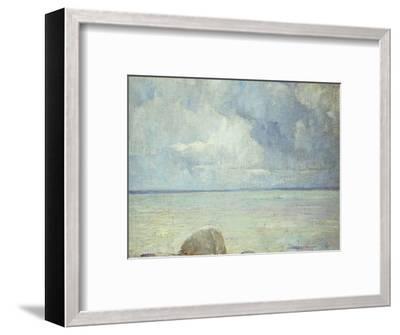 A View of the Sound-Soren Emil Carlsen-Framed Premium Giclee Print