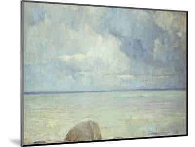 A View of the Sound-Soren Emil Carlsen-Mounted Premium Giclee Print