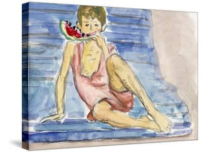 The Artist's Son-Henri Lebasque-Stretched Canvas Print